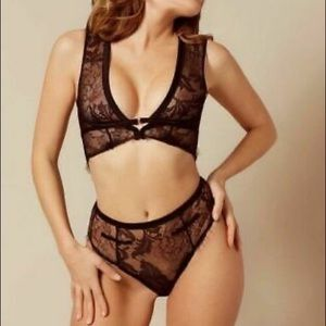 Agent provocateur Sofiia bra and big brief NWT